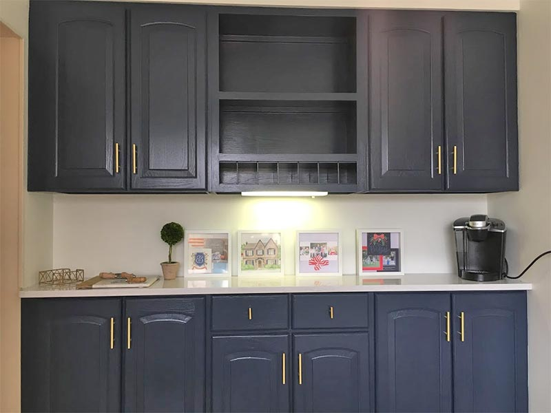 Cabinet Painting by HBP Painting Contractors