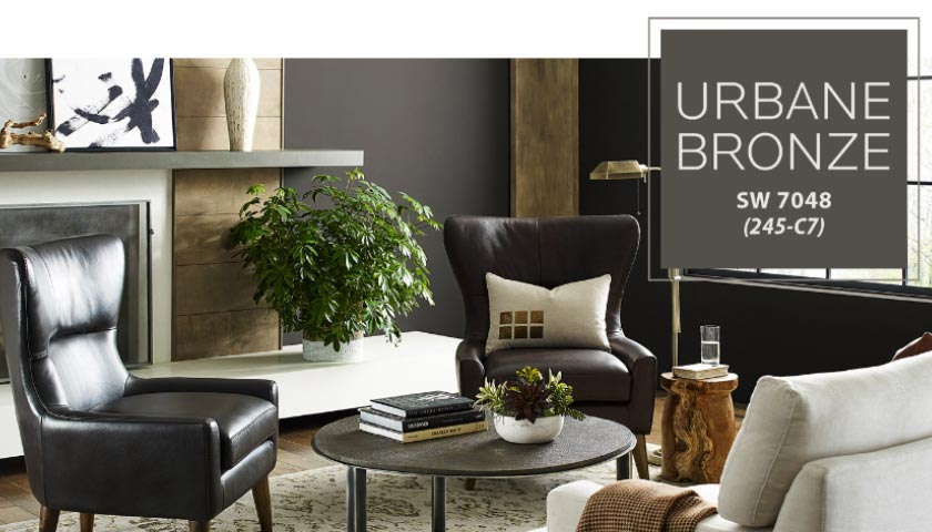 Sherwin Williams 2021 Color of the Year: Urbane Bronze