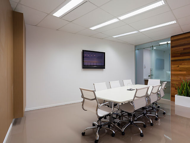 Commercial Office Painted by HBP Painting Contractors