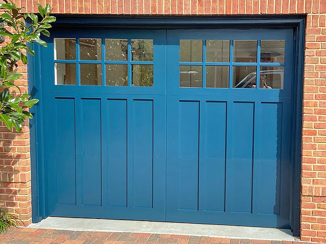 Painted Garage by HBP Painting Contractors