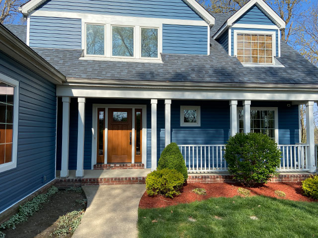 Exterior House Painted by HBP Painting Contractors
