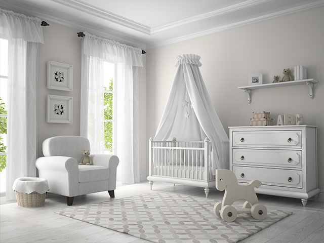 Nursery Painted by HBP Painting Contractors