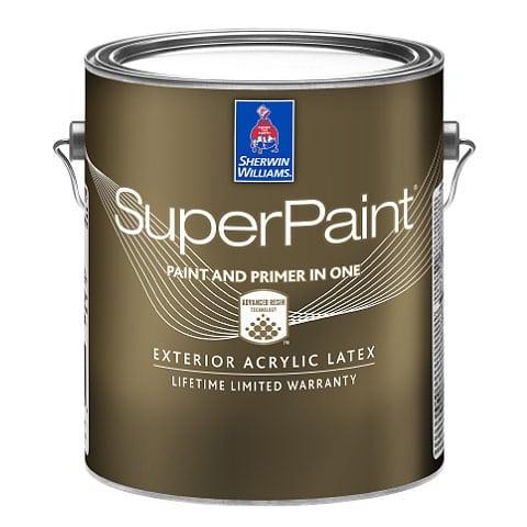 Sherwin-Williams SuperPaint® Exterior Acrylic Latex