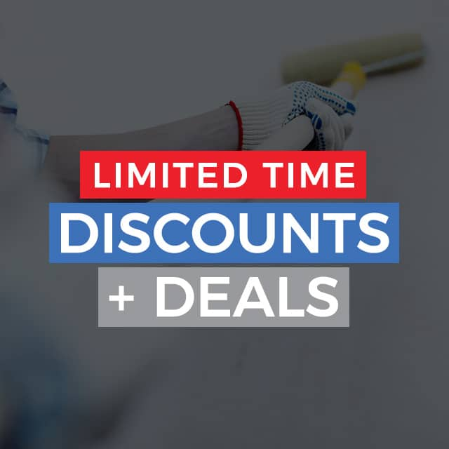 Limited Time Discounts + Deals